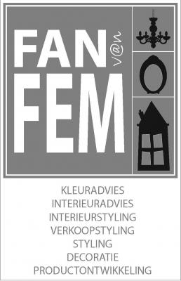 Fan van Fem visitekaartje FvF voorkant